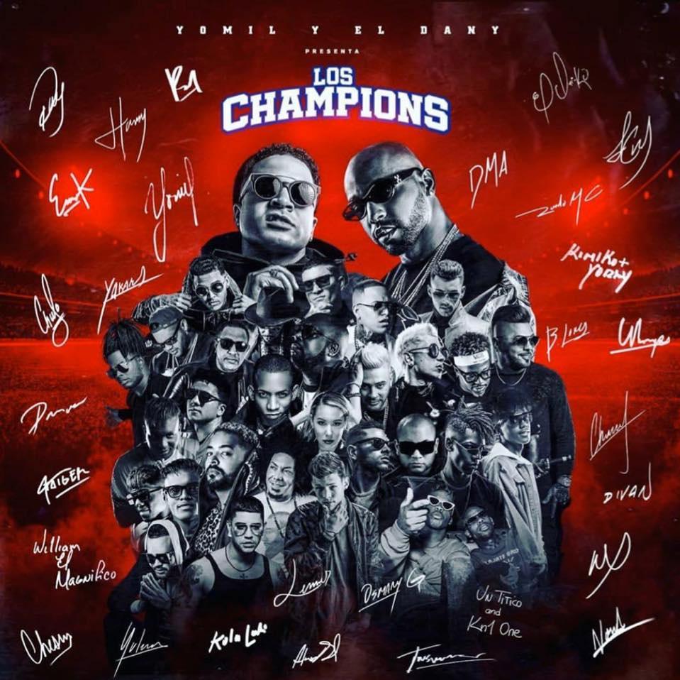 los-champions-e-l-ultimo-album-nella-carriera-di-yomil-y-el-dany