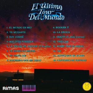el-ultimo-tour-del-mundo-track-list-bad-bunny-reggaeton-italia
