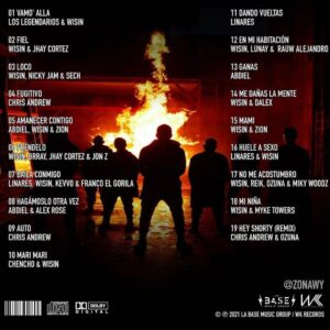 track-list-di-los-legendarios-reggaeton-italia